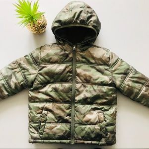 Healthtex Boys 5T Camo Puffer Jacket